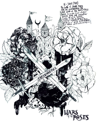 War Of The Roses — 2012. Rebel Rebel poster serie